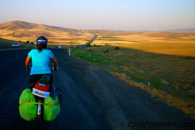 cycling the silk road in eastern Turkey