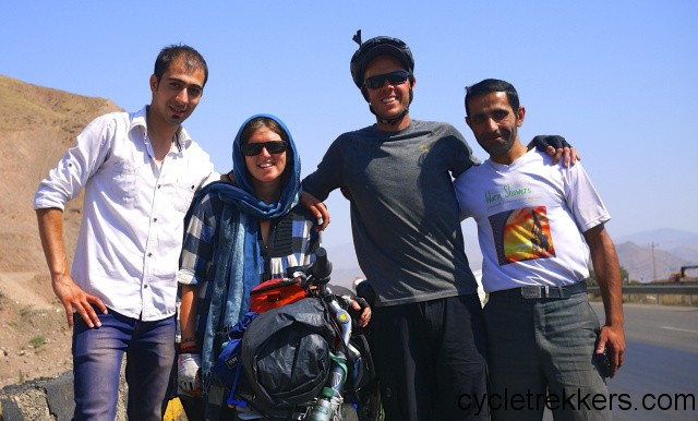 Discovering Iran by bicycle