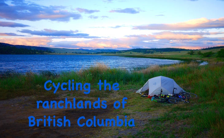Cycling the ranchlands of British Columbia
