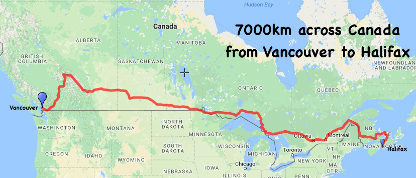 Canada Cycle Route