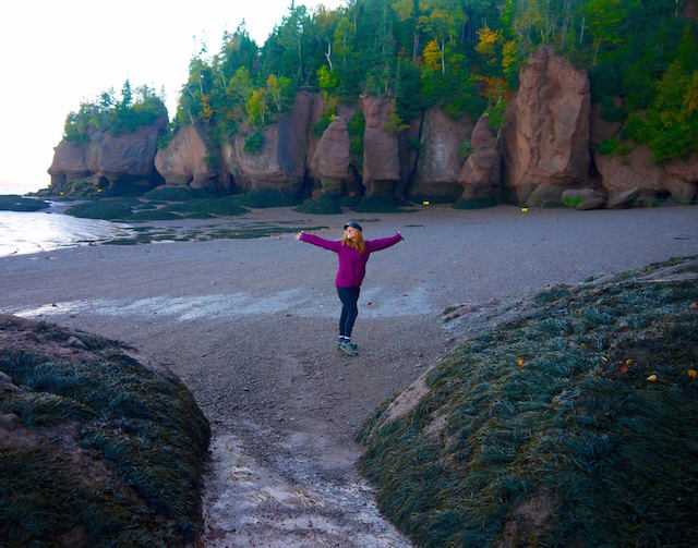 Fundy National Park and a Kelly, discovering new brunswick by bicycle