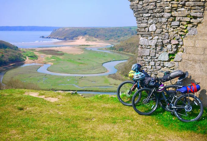 gower bikepacking