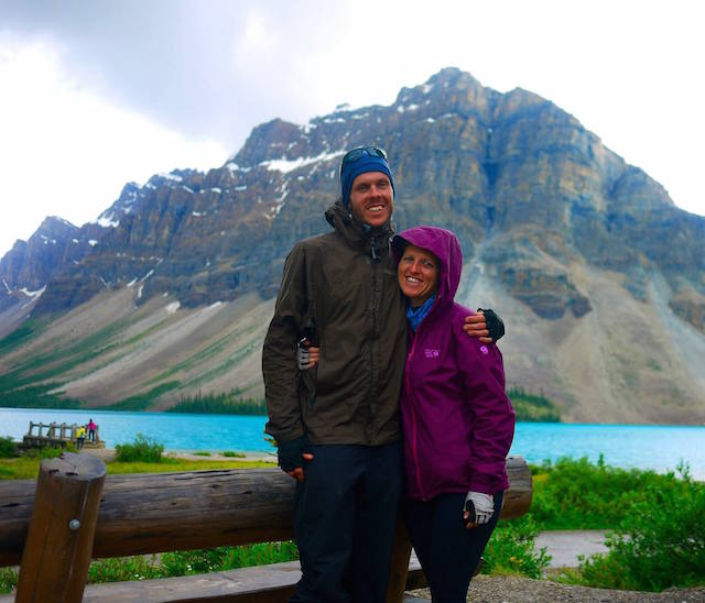 bow lake: the rockies