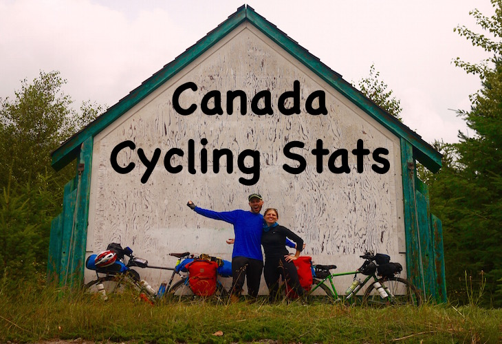 Canada cycling stats