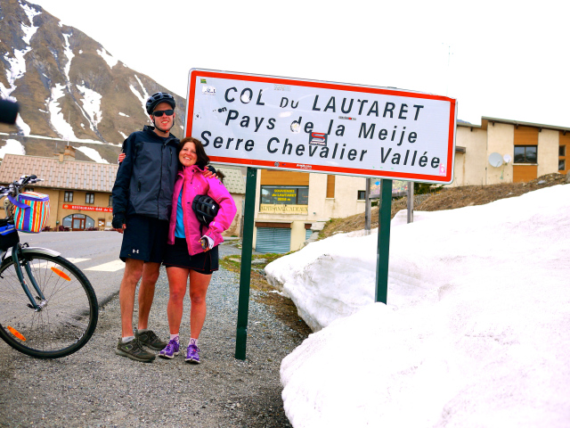 col du lautaret by bicycle