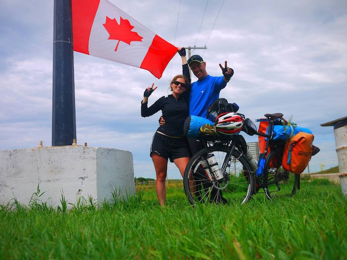 pedalling the Prairies