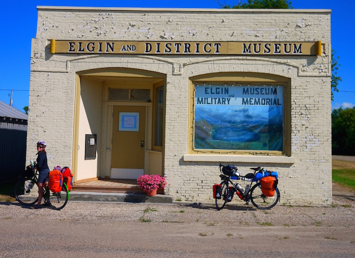 elgin manitoba, cycle touring videos, cycling in manitoba