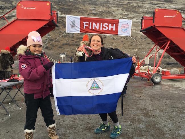 polar marathon finishline nicaragua