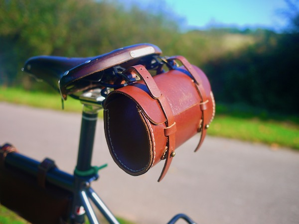 Galen Leather Bicycle Bags