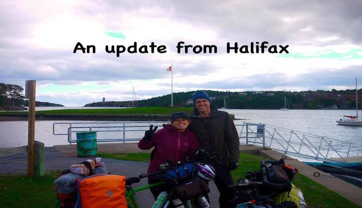 An update from Halifax