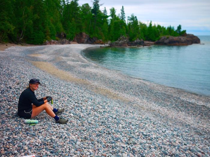 Cycling Lake Superior