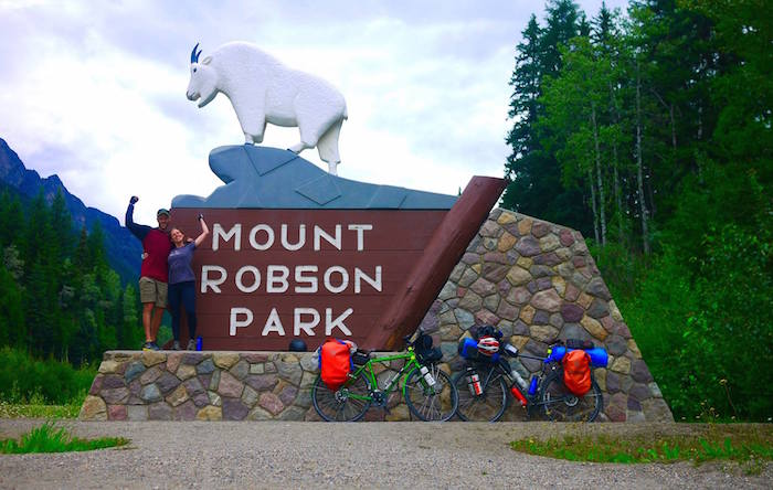 Cycling to the Canadian Rockies