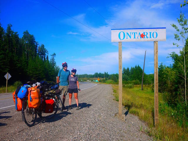 ontario by bicycle