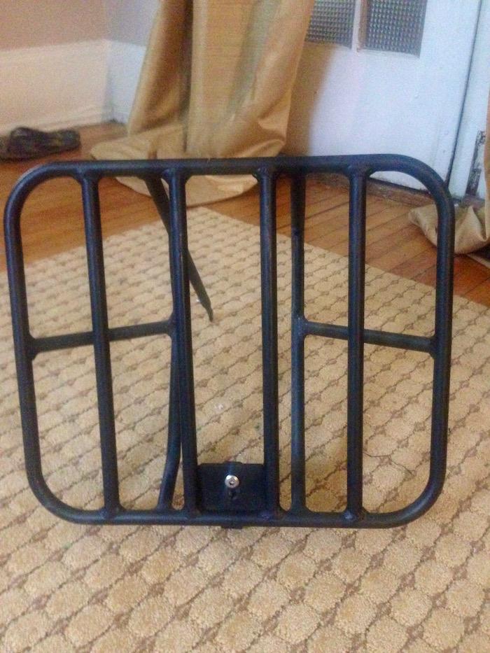 origin8 classique cargo front rack bike