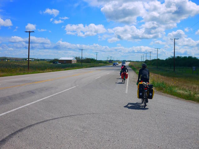 Cycling in the Saskatchewan Prairies