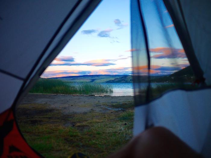Amazing campsite near Kamloops, BC