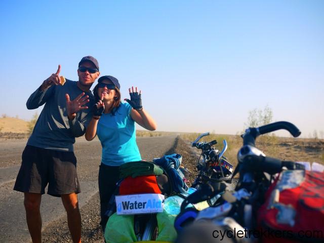 the turkmen dash, first cycle trip