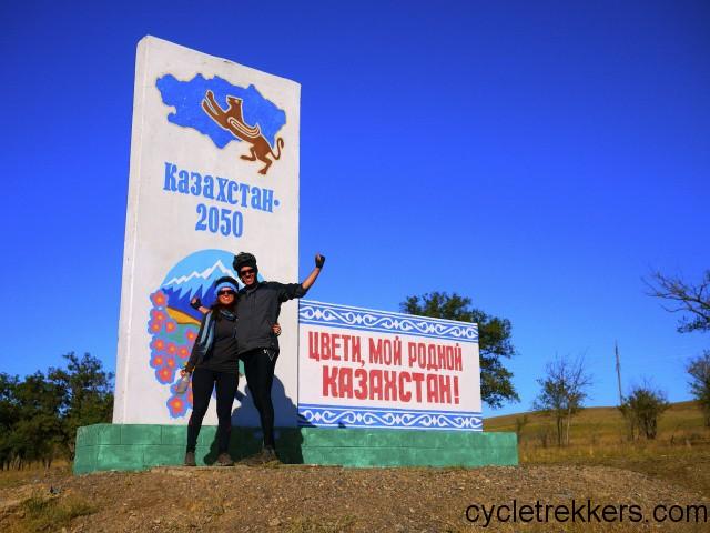 Cycling Kazakhstan