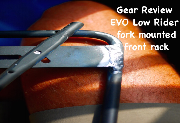 EVO Low Rider fork mounted front rack