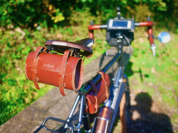 Galen Leather Bicycle Bag