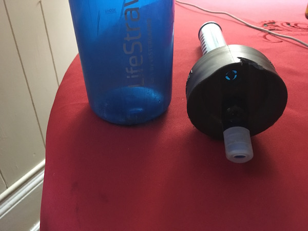 lifestraw bottle and lid,LifeStraw Go water bottle filter