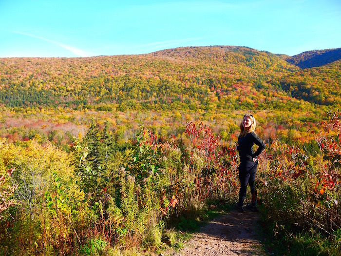 cape breton canada, hiking with your bike